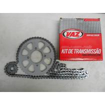 Kit Relação Vaz Xtz 125 Motard 2009/ Aço 1045 Yo4559t