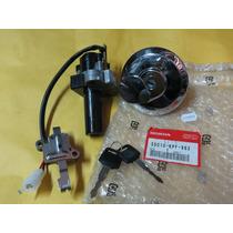 Kit Chave Igniçao/tampa Combustivel Cbx 250 06-08 Original