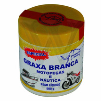 Graxa Em Pote Branca Especial Moto Peças Nautica (500 Gr)