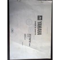 Catálogo De Peças Yamaha Xtz-750 (3sc4) Ano 1992 !