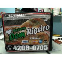 Propaganda Para Caixa De Pizza Ou Mochila De Pizza Com Logo