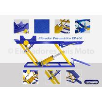 Rampa Pneumatica Para Moto 400kg 2 Pistão Luis Moto
