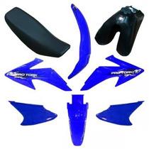 Kit Plastico Protork Crf 230 Adaptavel Xr200 Tornado Naciona