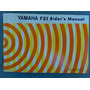 Manual Moto Fs1 50cc Yamaha 1972,raridade Original
