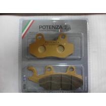 Pastilha Suzuki Yes Dianteira Potenza Made In Italy