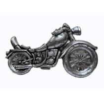 Escultura Quadro Parede Moto Estilo Harley