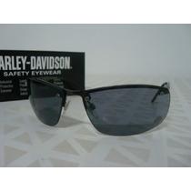 Acessório P/ Harley - Óculos De Sol Anatômico - Lente Cinza