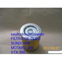 Peças Sundown Motard 200 / Stx 200 Filtro De Óleo
