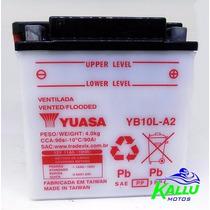 Bateria Virago 250 Gs 500 Yb10l-a2 Yuasa Kallu Motos