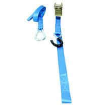 Kit C/2 - Cinta Esticador P/ Transporte Motos E Cargas Azul