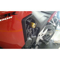 Slider Honda Cbr500r - Cb500 Lançamento - 2013- 2014 C/ Mola