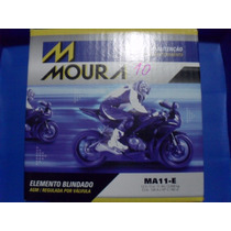 Bateria Moto Moura Yt12b-bs Yuasa Ma11-e 11ah Fz6 Ducati Tdm