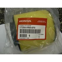 Honda Filtro De Ar Trx 350 Quadriciclo Elemento Fourtrax