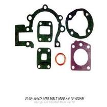 Jogo Junta Motor Mobilet Av-10 + Brinde