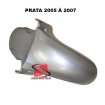 Paralama Dianteiro Cbx250 Twister Prata 2005 / 2007 Serjao