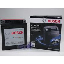 Bateria De Moto Bosch Gel Honda Xr 250 Tornado 2001 Até 2009