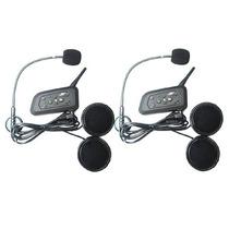 Intercomunicador Bluetooth Para Capacete Moto - 1200 Metros