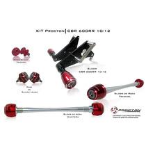 Kit Slider Procton Racing Honda Cbr600rr Cbr 600rr Completo