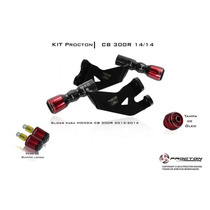 Kit Slider Procton Racing Honda Cb300r 2013 2014 - Completo