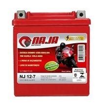Bateria Naja Nj-12-7 Twister/nx 200/cb 300r/cbx 250/falcon