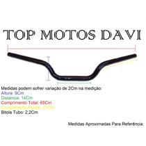 Guidão Moto Honda Cb 500 Preto C/ Fixa Peso ../03 - 3705