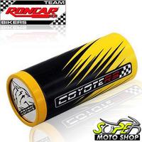 Slider Dianteiro Coyote Par Amarelo E Preto Cbx Twister 250