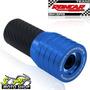 Slider Dianteiro Coyote Alumínio Par Cb 300 R Azul Honda
