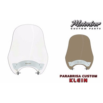 Parabrisa (bolha) Intruder125 Logo Motovisor Cristal - Bo039