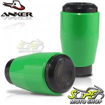 Slider Dianteiro Anker Z 750 08 Em Diante Verde Ninja Kawsak