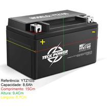 Bateria Teckpower Ytz10-s Honda Cbr 900 925 Cbr 600f Yzf R1