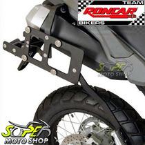 Suporte P/ Bauleto Lateral Roncar Alumínio Tenere 660 Yamaha