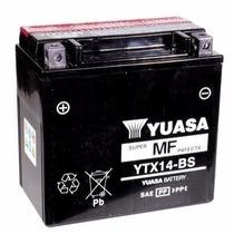 Bateria Ytx14-bs Yuasa Bmw, Ducati, Buell, Shadow, Vulcan