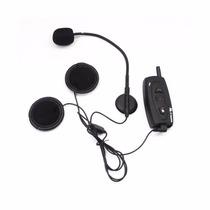 Intercomunicador Moto Capacete Bluetooth, 500m, Kit Com 2 Un