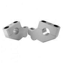 Adaptador / Riser Anker Para Guidão Oxxy 31,5mm Prata