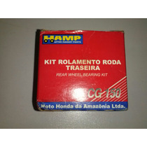 Kit Rolamentos Roda Traseira Honda Titan 150 Original