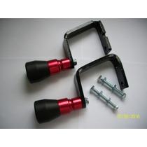 Slider Cb300 Dianteiro Vermelho Alumínio / P P Frete Grátis