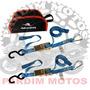 Kit Cinta Esticador E Mosquetao Transporte Moto Anker 2 Pç
