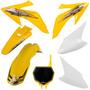 Kit Plasticos Crf230 Roupa Crf 230 Pro Tork + Number Plate