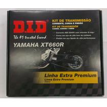 Kit Transmissão (relação) Xt 660 - Did Premium - 12338