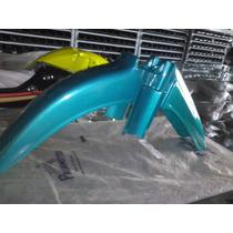 Paralama Yamaha Crypton Dianteiro Verde 02