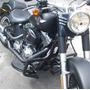 Protetor Motor Harley-davidson Softail Fat Boy Special Preto
