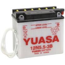 Bateria Yuasa 12n5,5-3b Moto Motocicleta Ybr, Factor, Rd 350