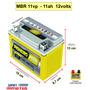Bateria Moto Gsx 1100 750 Cbr Zx 11 Ytx12-bs Suzuki