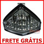 Lanterna Led Fumê Pisca Embutir Honda Hornet 2012 Cbr600f