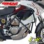 Protetor Motor E Carenagem Preto Fosco Transalp 700 Honda
