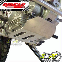 Protetor De Carter Roncar Em Aço Inox Xtz 125 Yamaha