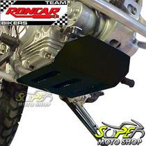 Protetor De Carter Roncar Aço Carbono Preto Xtz 125 Yamaha