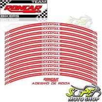 Adesivos Coyote P/ Roda Dianteira Traseira Cb 300 R Vermelho
