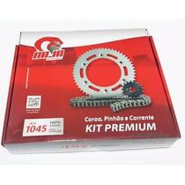 Kit Relação Transmissão Honda Biz 125 Naja Premium