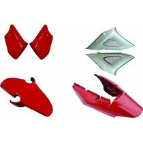Kit Carenagem Cbx250 Twister Vermelho 2008 Modelo Original